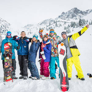 scuola sci livigno italy lezioni gruppo snow