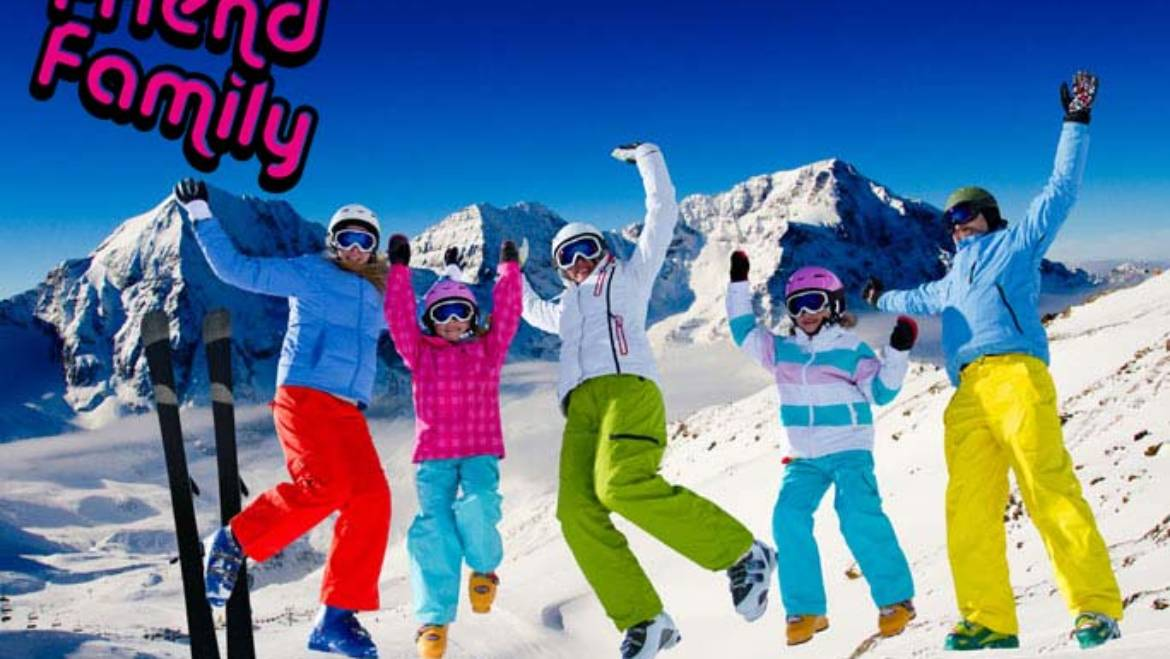 Friend Family – Skiing with the Family