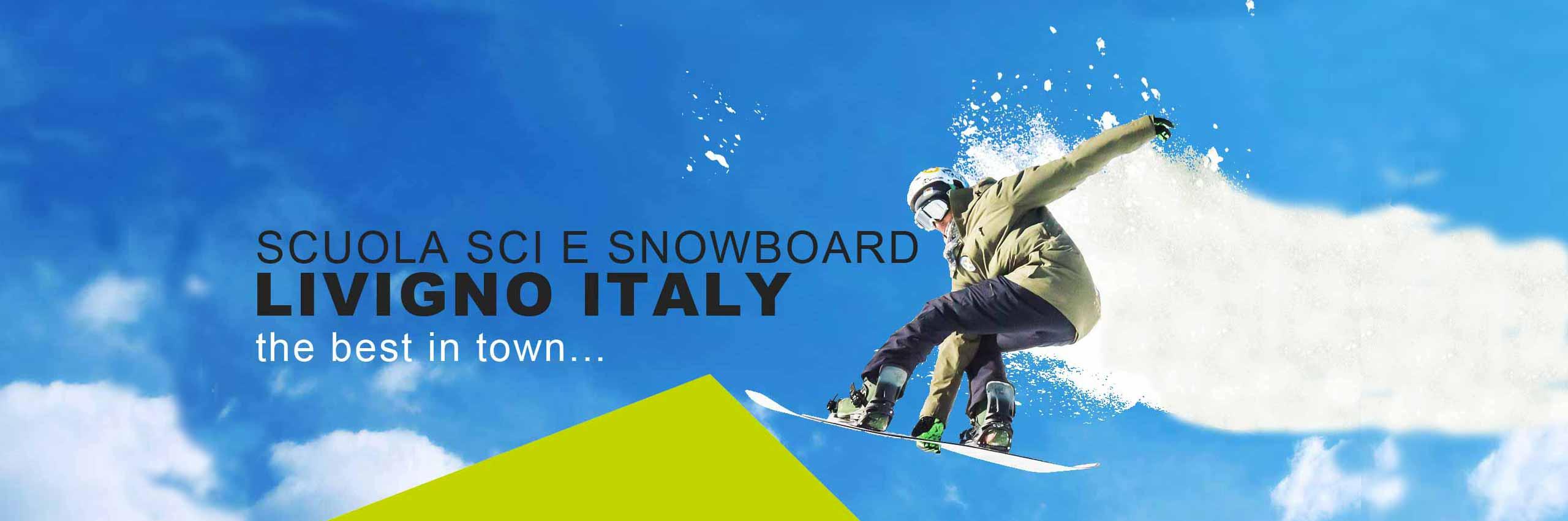 scuola sci livigno italy snowboard school homeslide