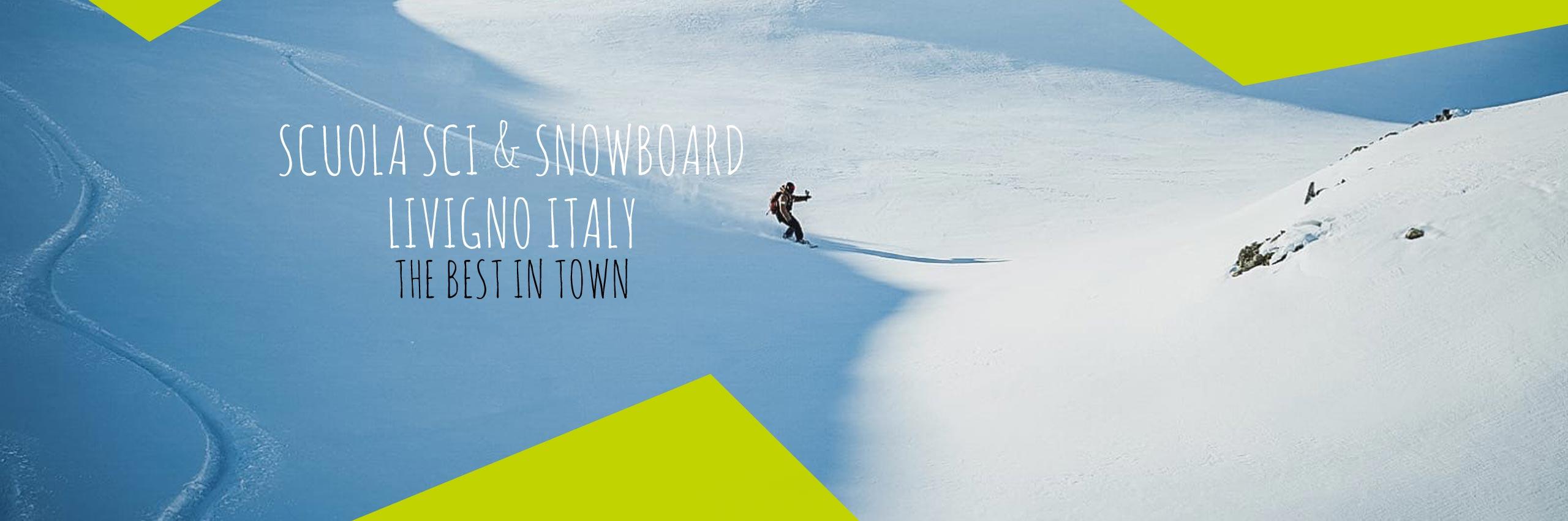 scuola sci livigno italy snowboard homeslide lezioni noleggio rent